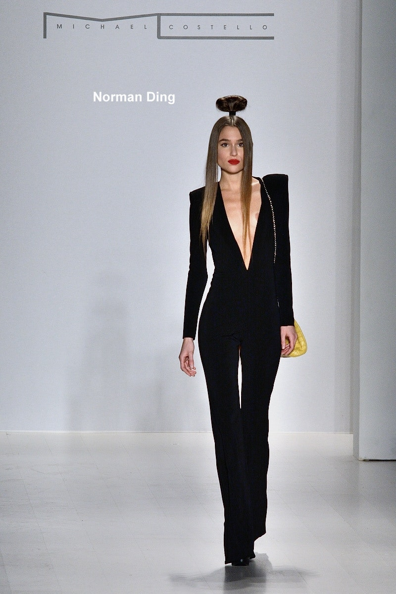Michael Costello F/W 2015 at MBFW