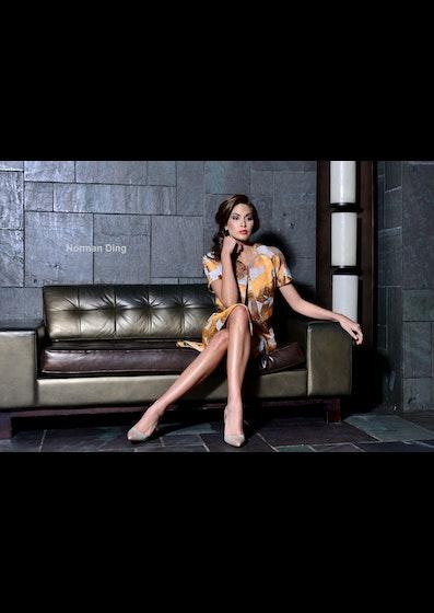 Fashion editorial shooting Cesar Galindo for Latino Show Magazine