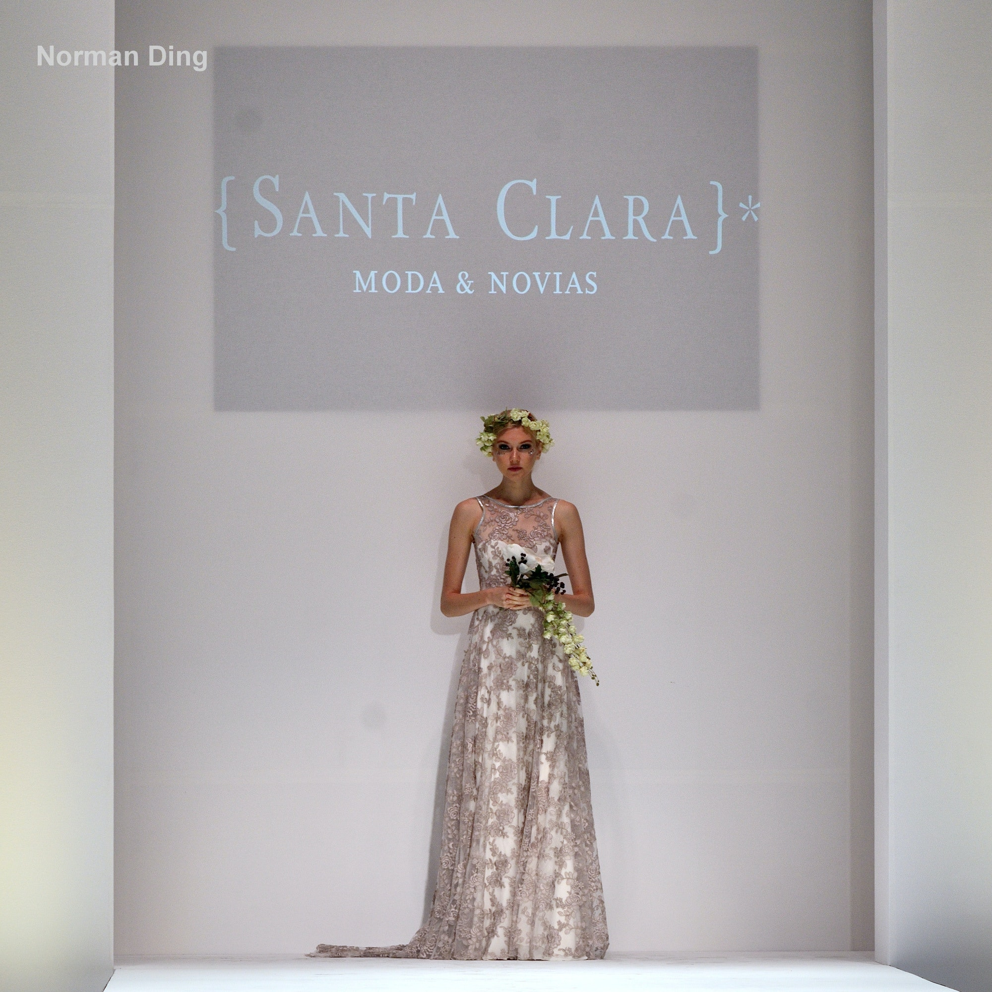 Santa Clara at Style Fashion Week during NYFW 2016