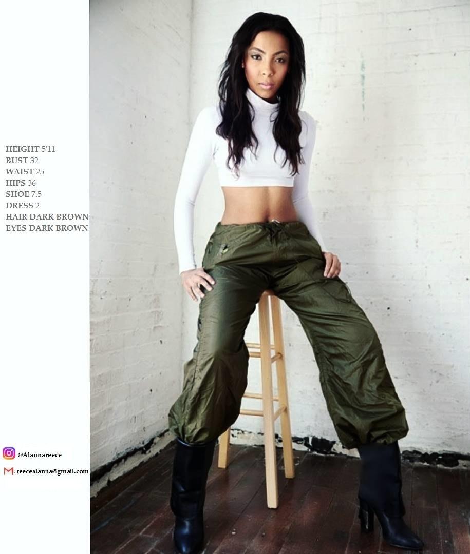 Alanna's Model portfolio