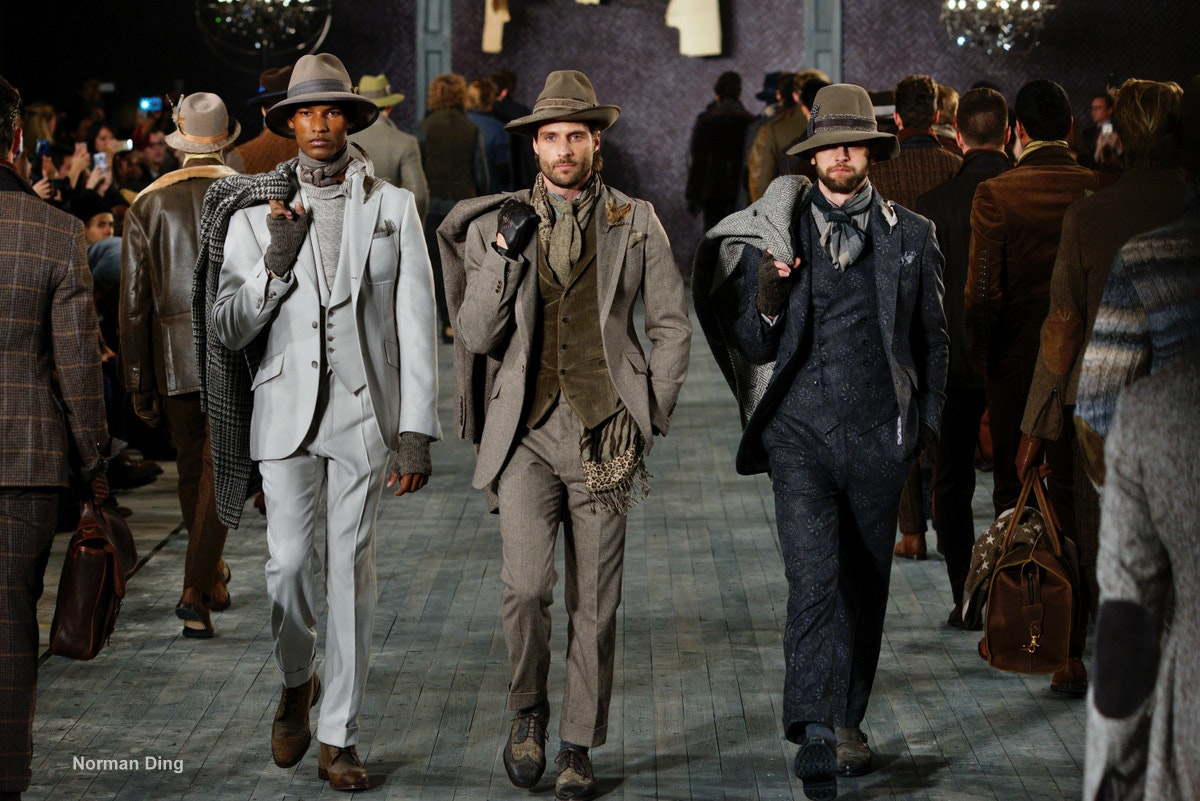 Joseph Abboud at New York Fashion Week: men's