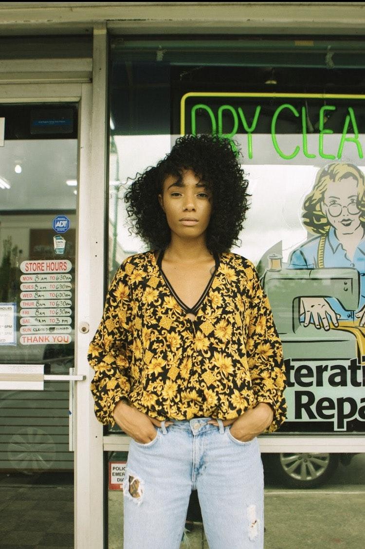 Tajh Garner's Model portfolio