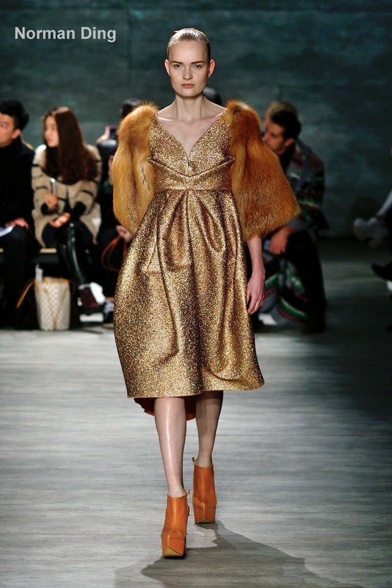 Song Jun Wan F/W 2015 at MBFW