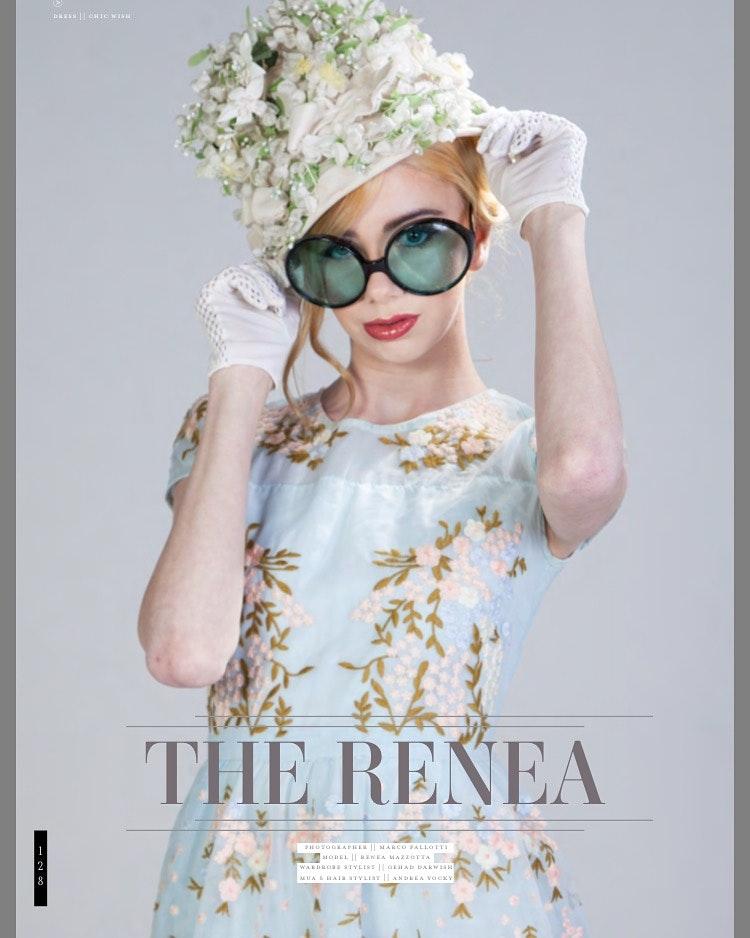 Renea Mazzotta's Model portfolio